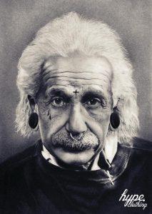 Hype Clothing early Albert Einstein Print