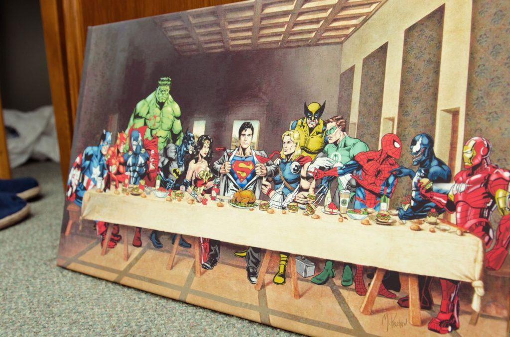 Superhero Cool Posters