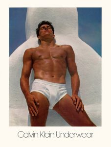 Olympic Athlete Tom Hintnaus models Calvin Klein underwear campaign