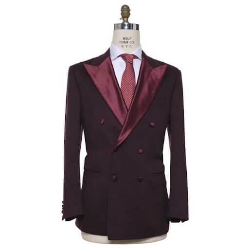An italian suit showcasing Sartorial Fashion